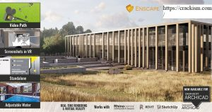 Enscape 3D 2.8.0 For Sketchup Crack 2020 [Revit/Rhino/ArchiCAD]