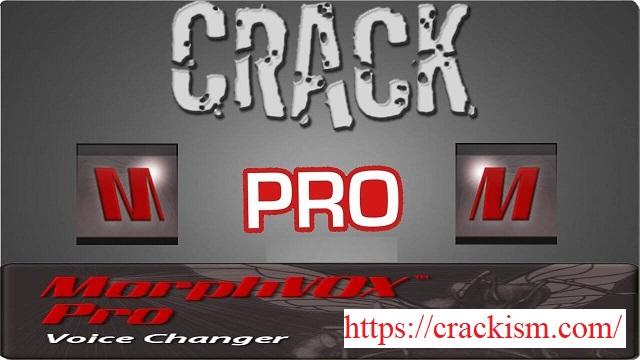 MorphVOX Pro 4.4.85 Crack 2020 Serial Key (MAC) Download