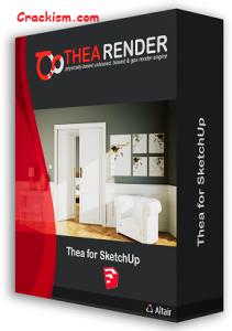 Thea Render 3.0.1161 Crack + Keygen Full Sketchup 2021
